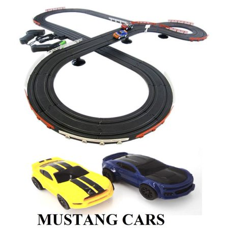 Road Race (Mustang Challenge Slot Car Road Race Set Ho Scale)