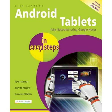 Android Tablets in Easy Steps: Covers Androiod 4.2