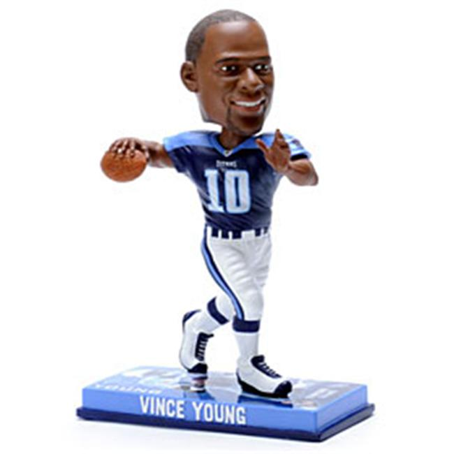 Tennessee Titans Vince Young Forever Collectibles Photo Base Bobble Head