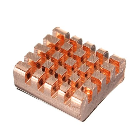 8 pcs Copper Cooler HeatSink For DDR DDR2 DDR3 Raspberry Pi and VGA RAM Memory - image 4 of 7
