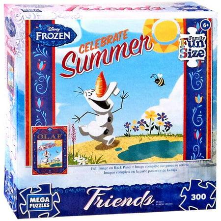 Disney Frozen Olaf Celebrate Summer Puzzle [300 Pieces] - Frozen Center Pieces