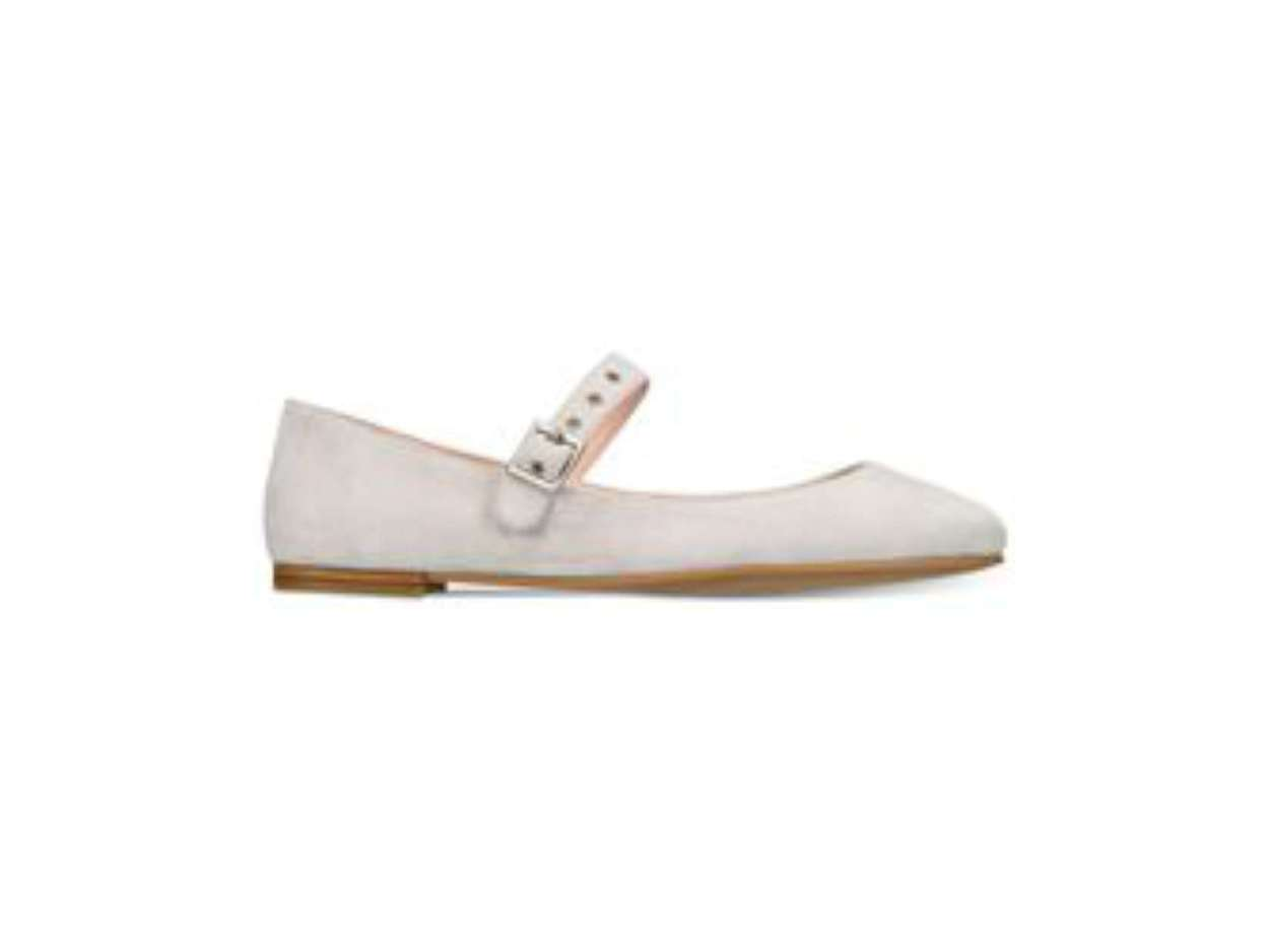 Avec Les Filles Damenschuhe renee Toe Suede Almond Toe renee Mary Jane Flats bdd3d8