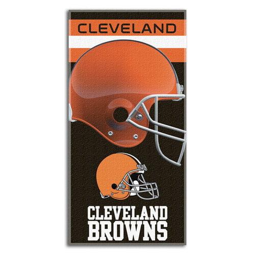 NFL - Cleveland Browns 30x60 Fiber Reactive Beach Towel