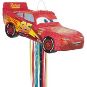 Disney Cars Pinata, Pull String, 21 x 10 in, 1ct