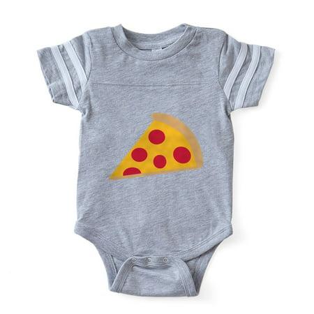 CafePress - Pizza_Simple - Cute Infant Baby Football Bodysuit (Pizza Onesie)