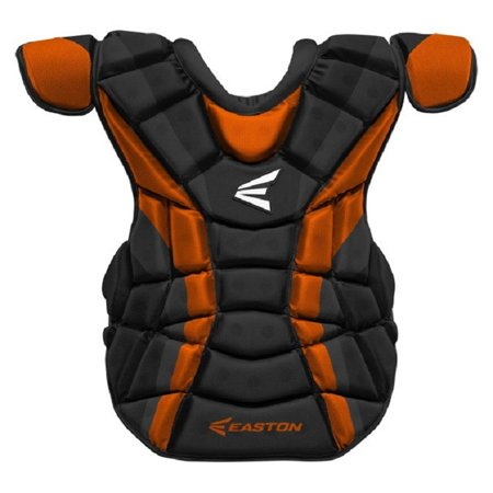 Easton A165973 Force Black / Orange Adult Custom Color Chest Protector Ages 16+