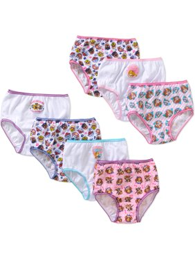 Paw Patrol Brief Underwear, 7-Pack (Toddler Girls)
