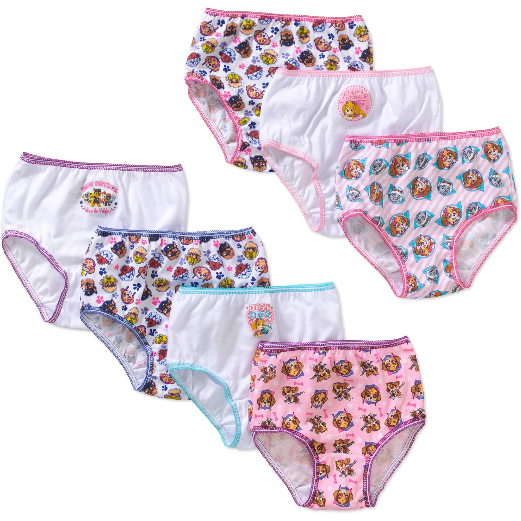 PAW Patrol Toddler Girls' underwear, 7-Pack