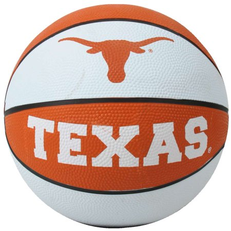 - Texas Longhorns Mini Rubber Basketball
