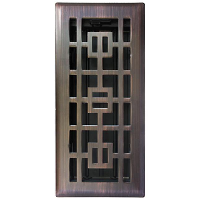 RG3283 4 x 10 in. Bronze Floor Register