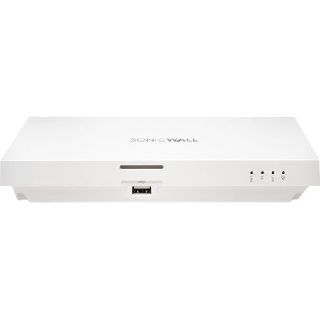 SonicWall SonicWave 231c IEEE 802.11ac 1.24 Gbit/s Wireless Access Point - 5 GHz, 2.40 GHz - MIMO Technology - Beamforming Technology - 1 x Network (RJ-45) - USB - Ceiling Mountable, Wall Mountable