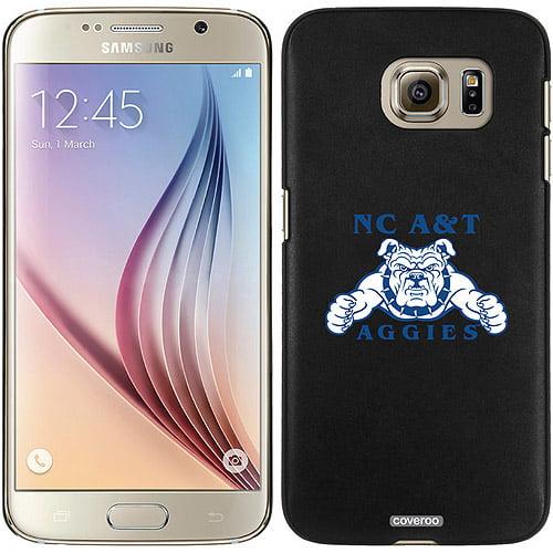 North Carolina A&T Bulldog Aggies Blue Design on Samsung Galaxy S6 Snap-On Case