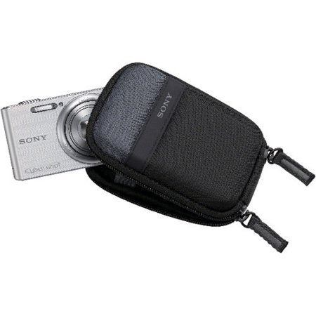 Sony LCSTWP/B Cyber-Shot Camera Case, Black Digital Point And Shoot Cell Phone