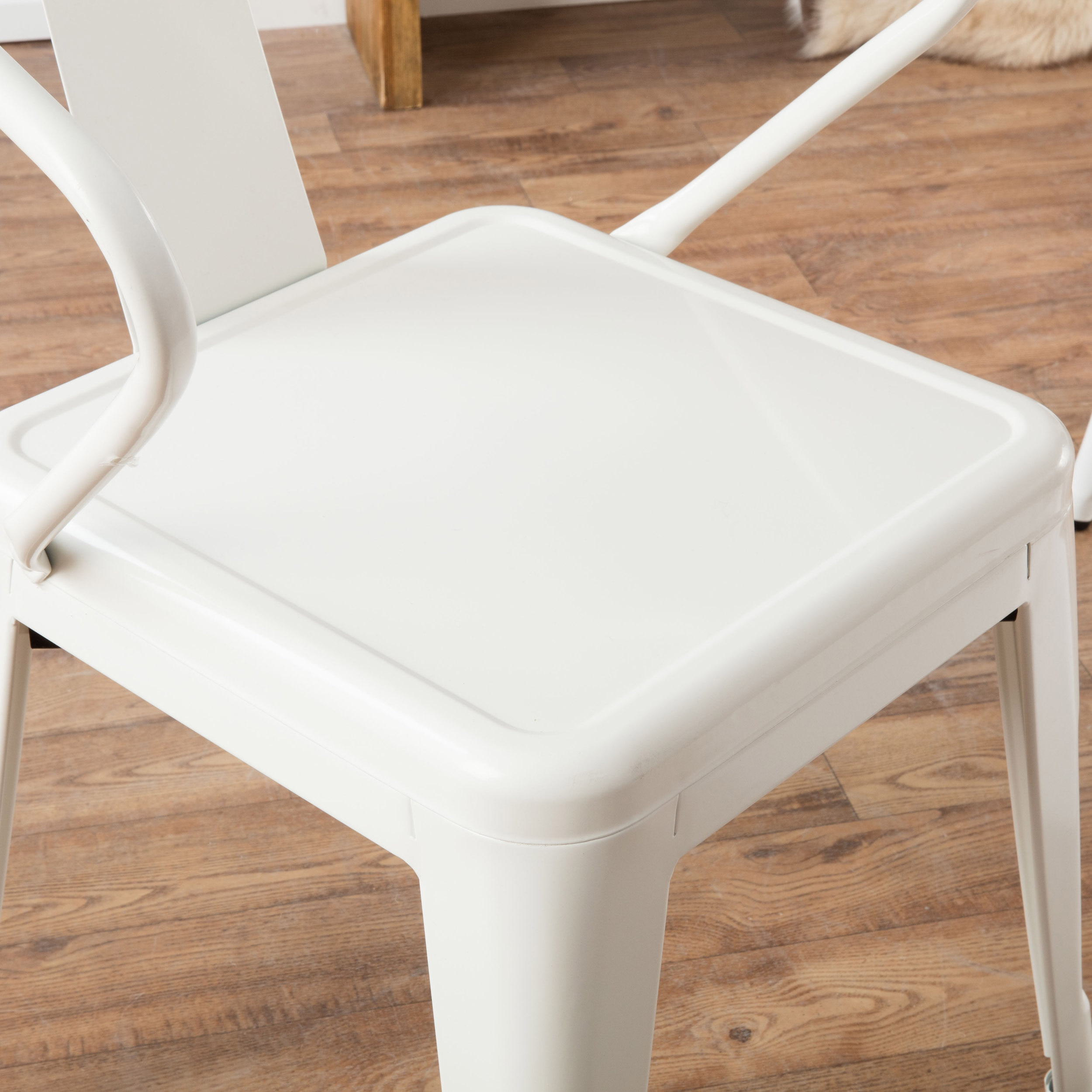 Superior White Tabouret Stacking Chairs #15 - I Love Living White Tabouret Stacking Chairs (Set Of 4) - Walmart.com