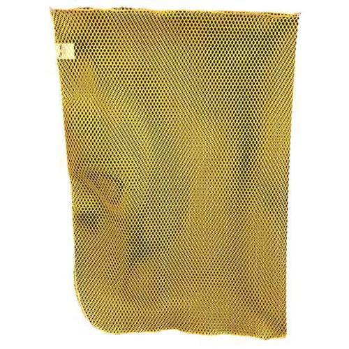 Mesh Laundry Bag,Yellow,Polyester,PK12 G0174566