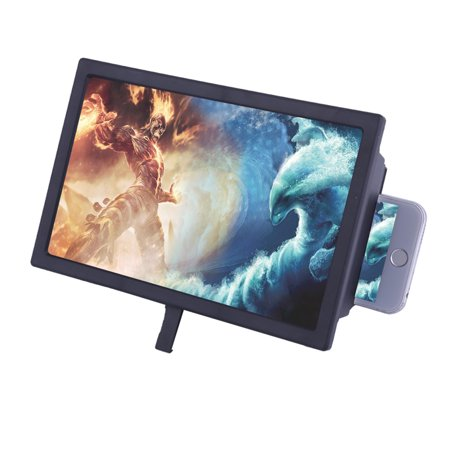 F2 Mobile Phone Screen Magnifier 3D Movie Video Screen Amplifier For Android