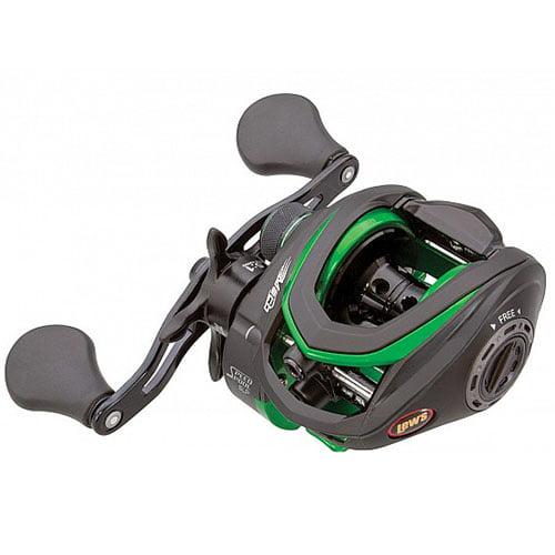 Lews Fishing Mach Speed Spool MCS Casting Reel 7.5:1 Gear Ratio, 11 Bearings, 10 lb Max Drag, Right Hand by Lews Fishing