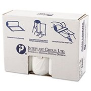 Inteplast Group 33 Gallon High Density Can Liner, 17 Micron in Clear