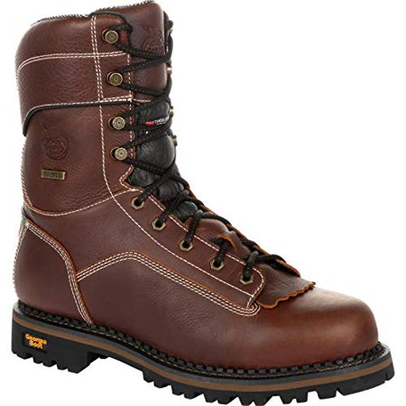 Georgia Men's Boot Amp Lt Waterproof Insulated Logger Composite Toe - Gb00261