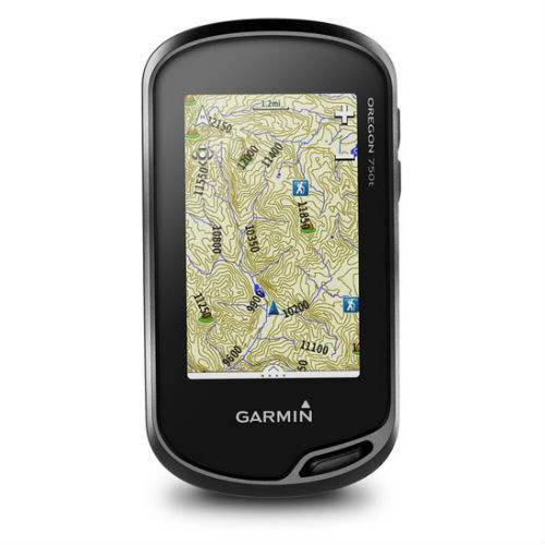 Garmin Oregon 750t Handheld GPS with TOPO US 100K Maps by Garmin