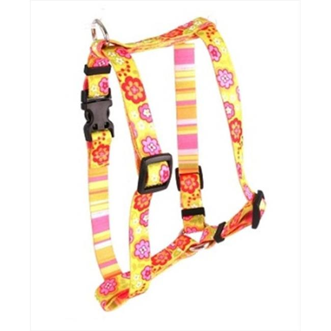Yellow Dog Design Bouquet with Stripe Roman Harness