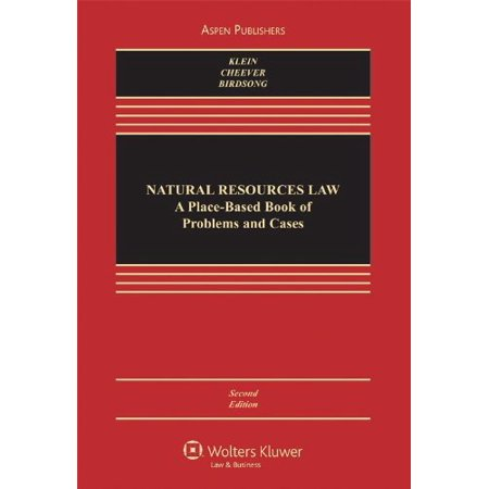 Natural Resources Law By Ms Christine A Klein