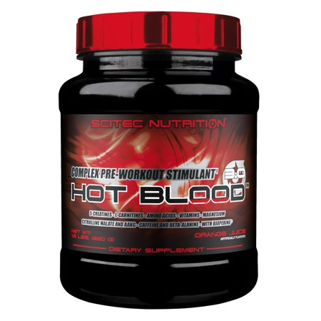Hot Blood 3.0, Orange Juice, 41 serving (Best Juices For Weight Loss Juice Fast)