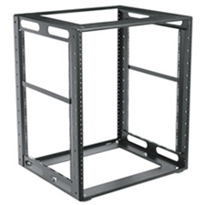Middle Atlantic Products - CFR1218 - Middle Atlantic Products CFR Series Rack, CFR-12-18 - 19 12U Wide x 18 Deep - Black