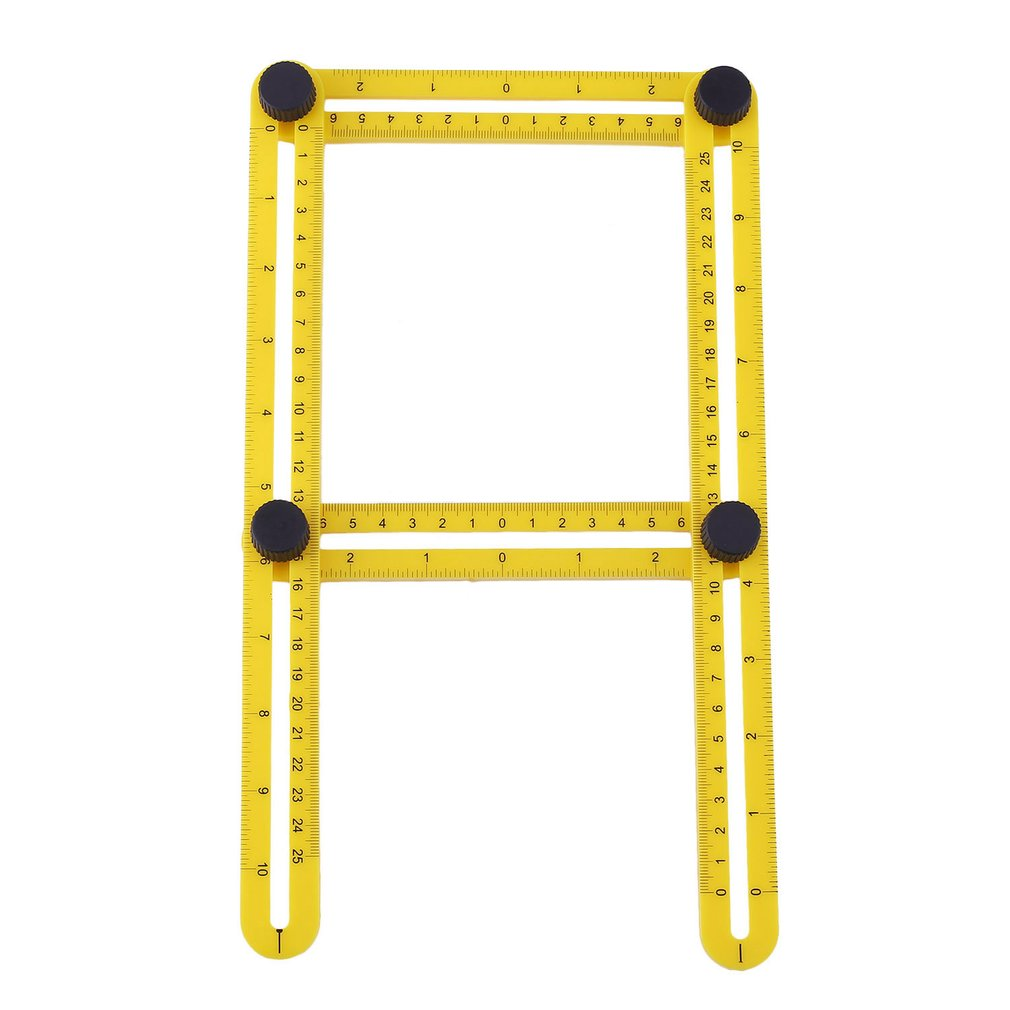 Ultimate Irregular Shape Copy Tool Universal Angularizer Ruler Easy Angle Ruler-Multi... by Justry