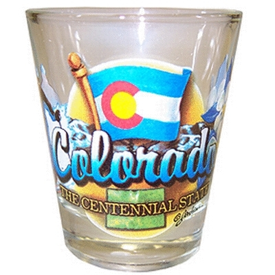 "Ddi Colorado Shot Glass 2.25h X 2"" W Elements (pack Of 96)"