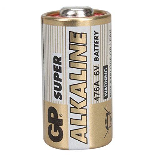 GP 476A 6V Alkaline Battery Gold