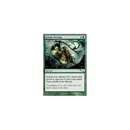 Sylvan Scrying (192/274) - Battle for Zendikar, A single