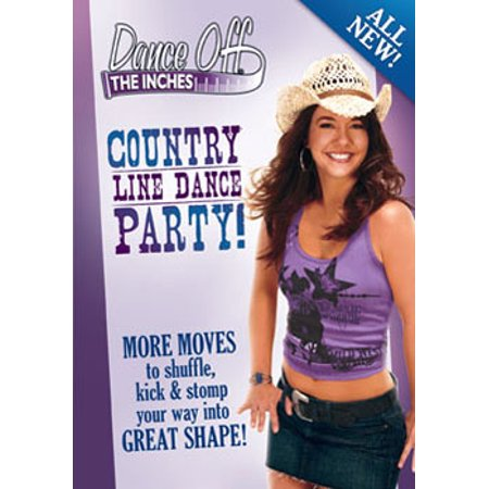 Dance Off The Inches: Country Line Dance Party (DVD) (Movies In C)
