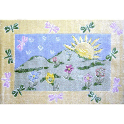 Fun Rugs Jade Reynolds Dragonfly Morning Kids Rug