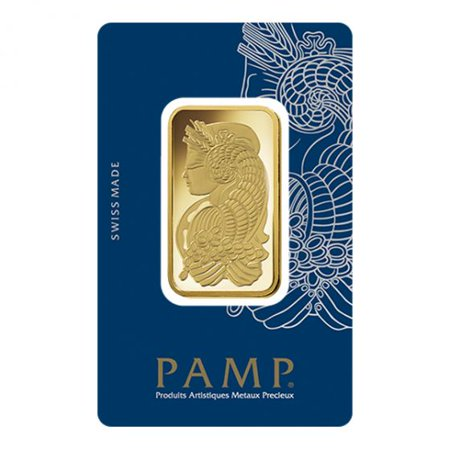 Pamp Suisse Gold Lady Fortuna Design 1 oz Gold (Best Gold Bars For Investment)