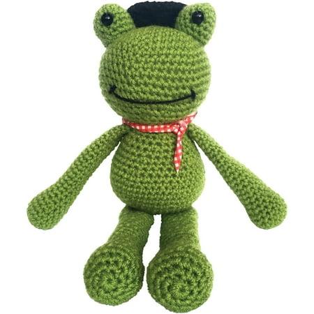 The Crafty Kit Co Crochet Kit Frankie Frog Walmartcom