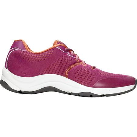 Vionic Women's Shoes Action Emerald Active Sneakers Berry Orthaheel (7, Medium)