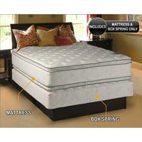 "Dream Solutions Pillow Top 12"" Innerspring Mattress and Box Spring Set"