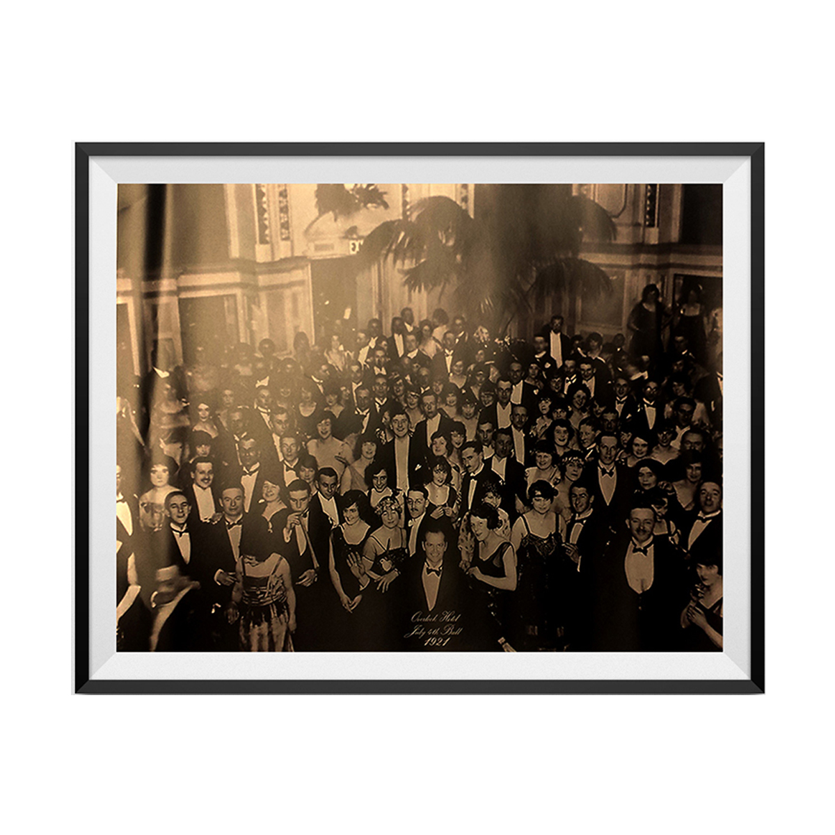 The Shining Overlook Hotel Ballroom Photograph Jack Nicholson Movie Poster Print - image 1 of 1