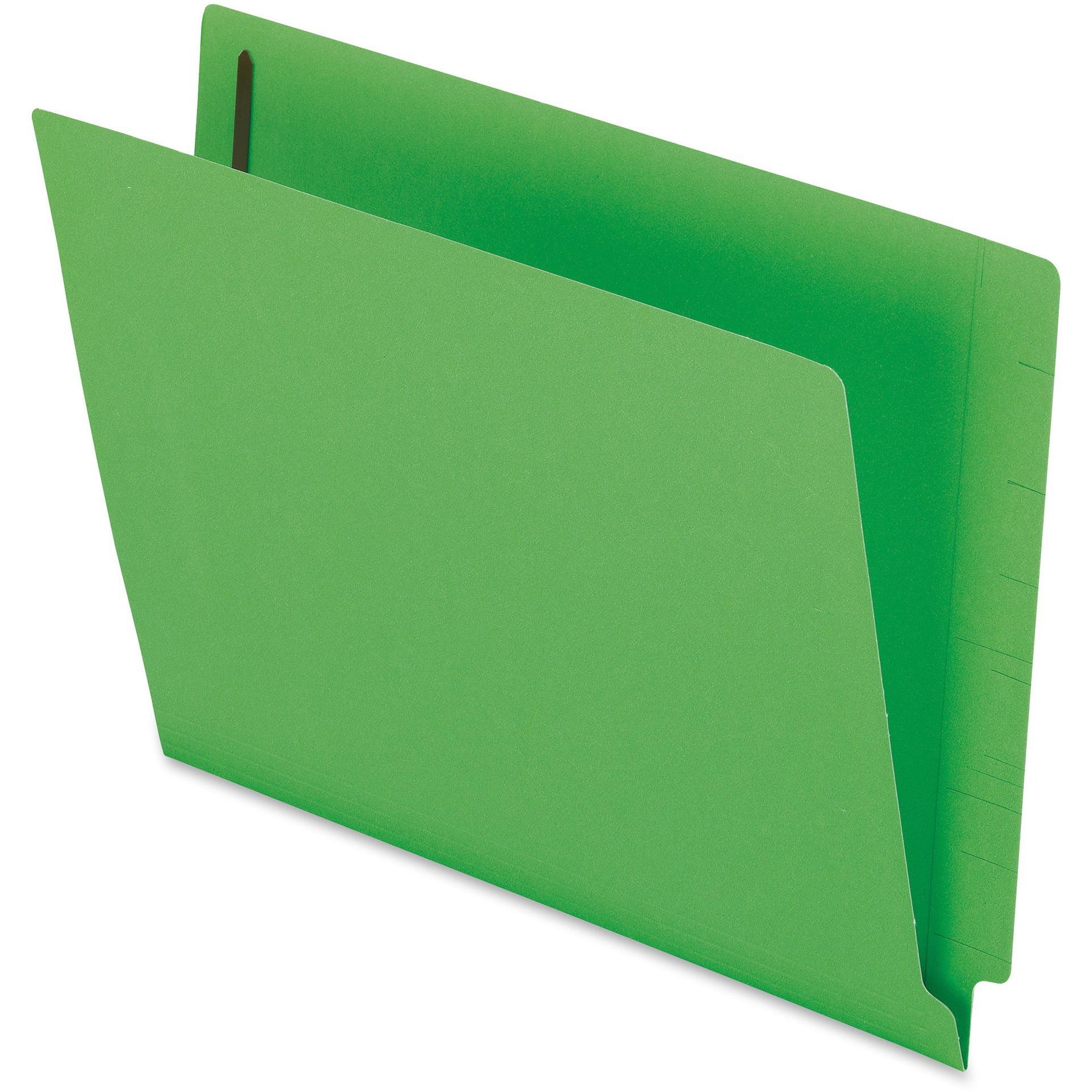 Pendaflex, PFXH10U13BL, Color End Tab Fastener Folders, 50 / Box, Blue