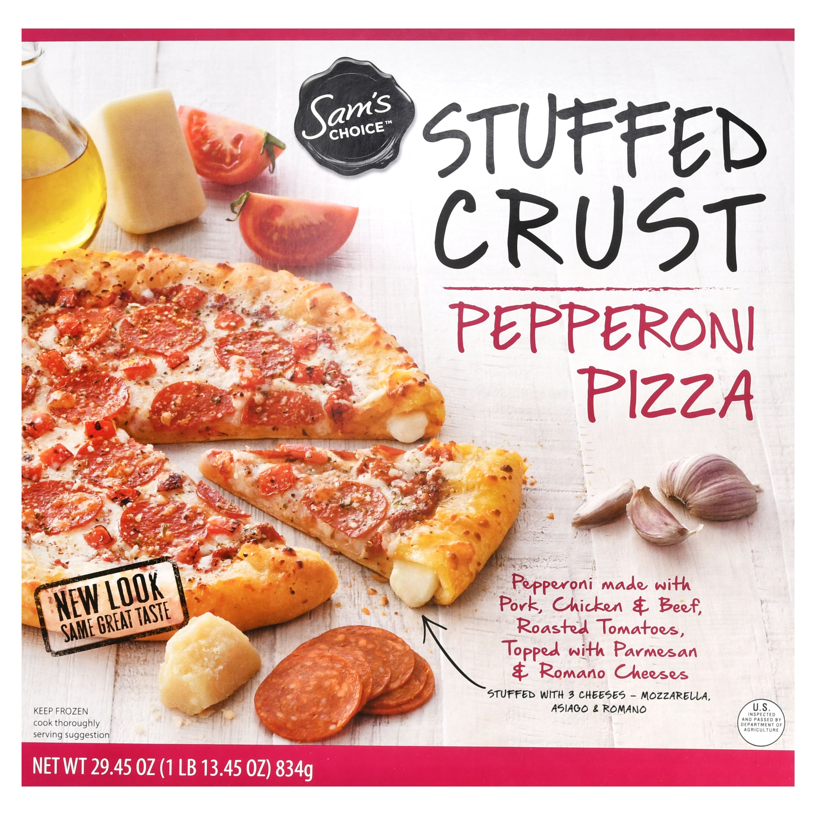 Sam's Choice Frozen Stuffed Crust Pepperoni Pizza, 31.8 oz