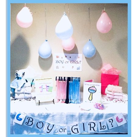 ULTIMATE Baby Shower Party Kit 50 Participants - for Boy or Girl/Gender - Boy Baby Shower Kits