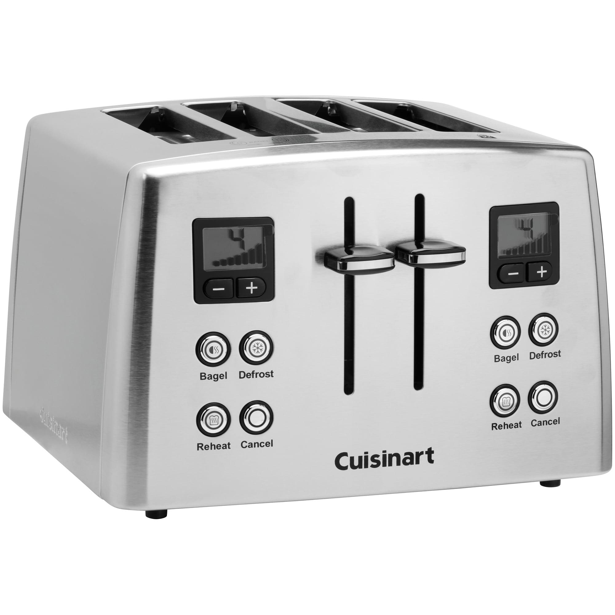 Cuisinart Countdown Classic 4 Slice Toaster Walmart
