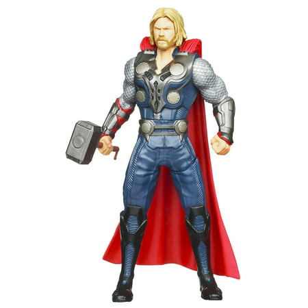 Marvel Avengers Mighty Battlers Hammer Slinging Thor Action Figure](Thor Top)