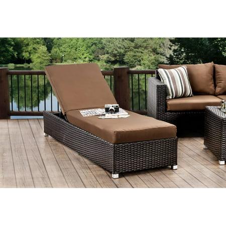 Hokku Designs Sheryl Chaise Lounge Cushion