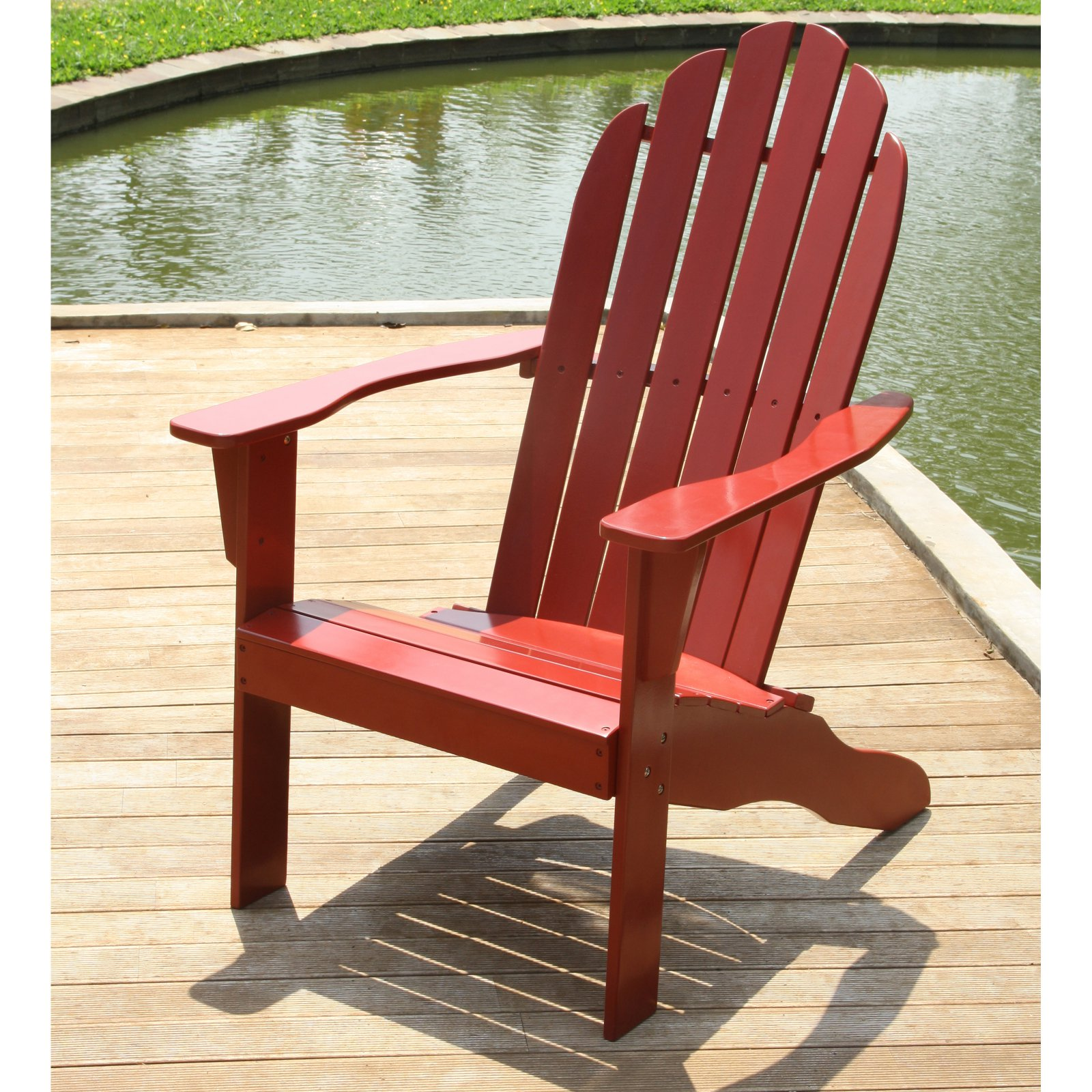 Cambridge Casual Wood Adirondack Chair by Fullrich Industries Co