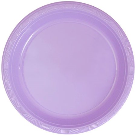 Hanna K Plasticware Plastic Plate, Round, 10