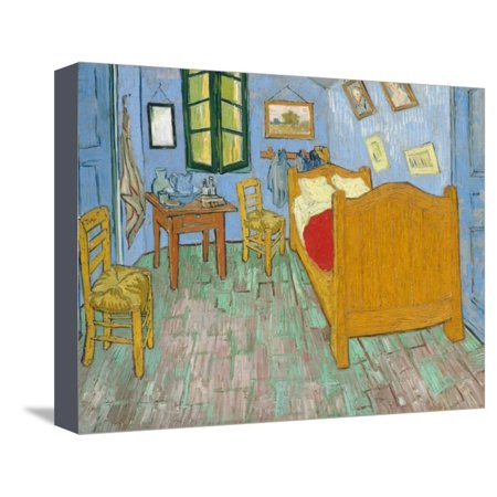 Van Gogh\'s Bedroom by Vincent Van Gogh Stretched Canvas Print Wall ...