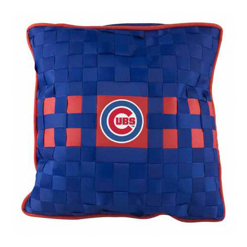 MLB - Chicago Cubs Woven Pillow