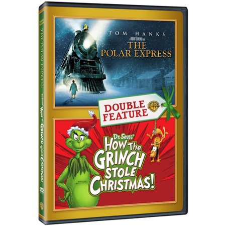 Polar Express / How The Grinch Stole Christmas (DVD) - Halloween Grinch Cartoon